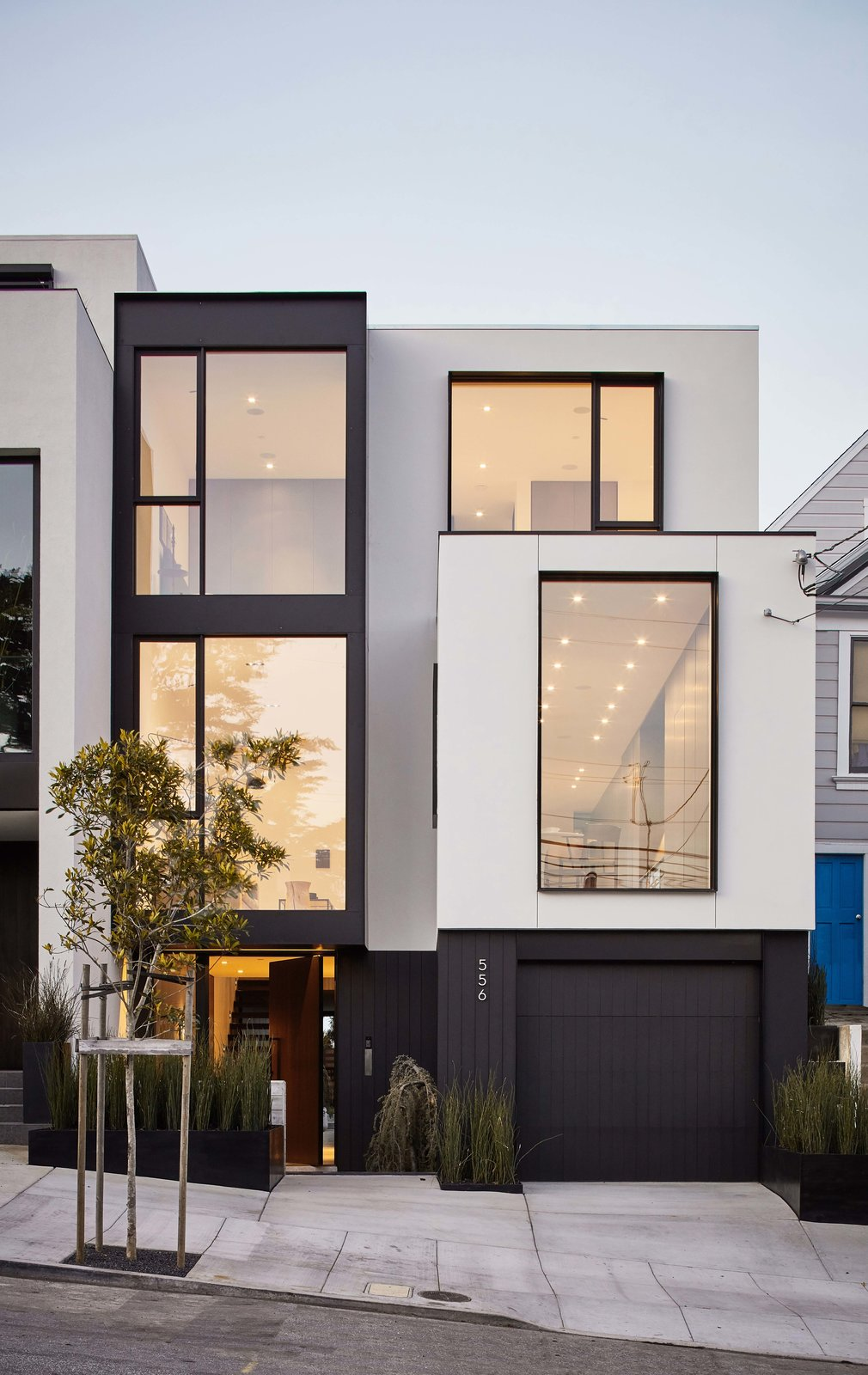 Exterior and House Building Type  MAK Studio Noe Valley Residence