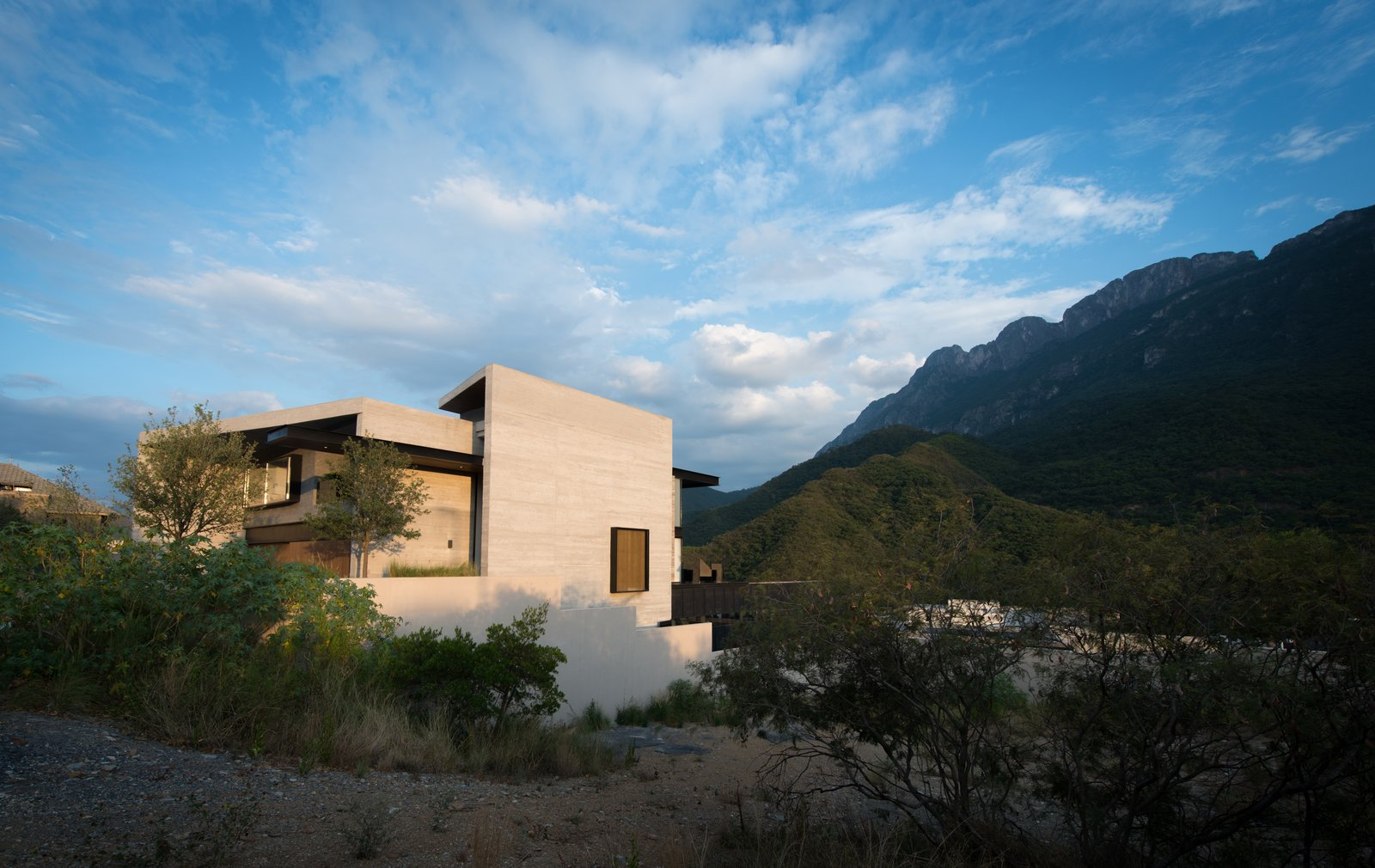 Outdoor, Landscape Lighting, Gardens, and Grass  M-4 House by C Cúbica Arquitectos