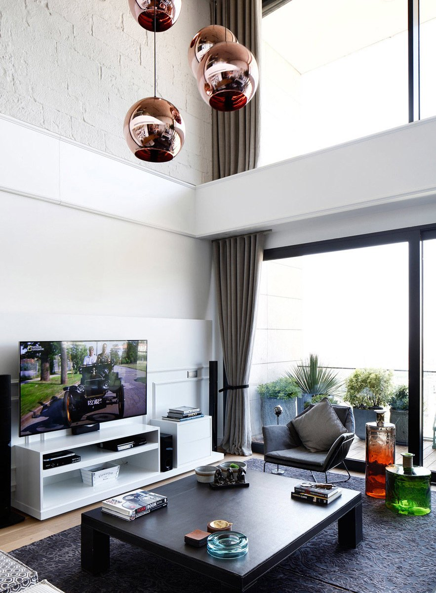 Living Room  BORNOVA PENTHOUSE