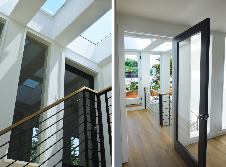 Hallway and Light Hardwood Floor  Kangaroo House by Opera Studio Architecture