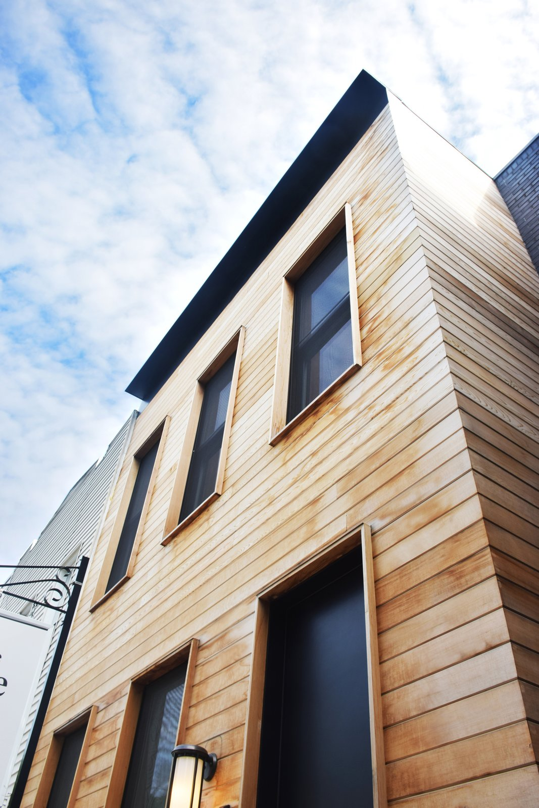 Exterior, House Building Type, Wood Siding Material, and Flat RoofLine  Kangaroo House by Opera Studio Architecture