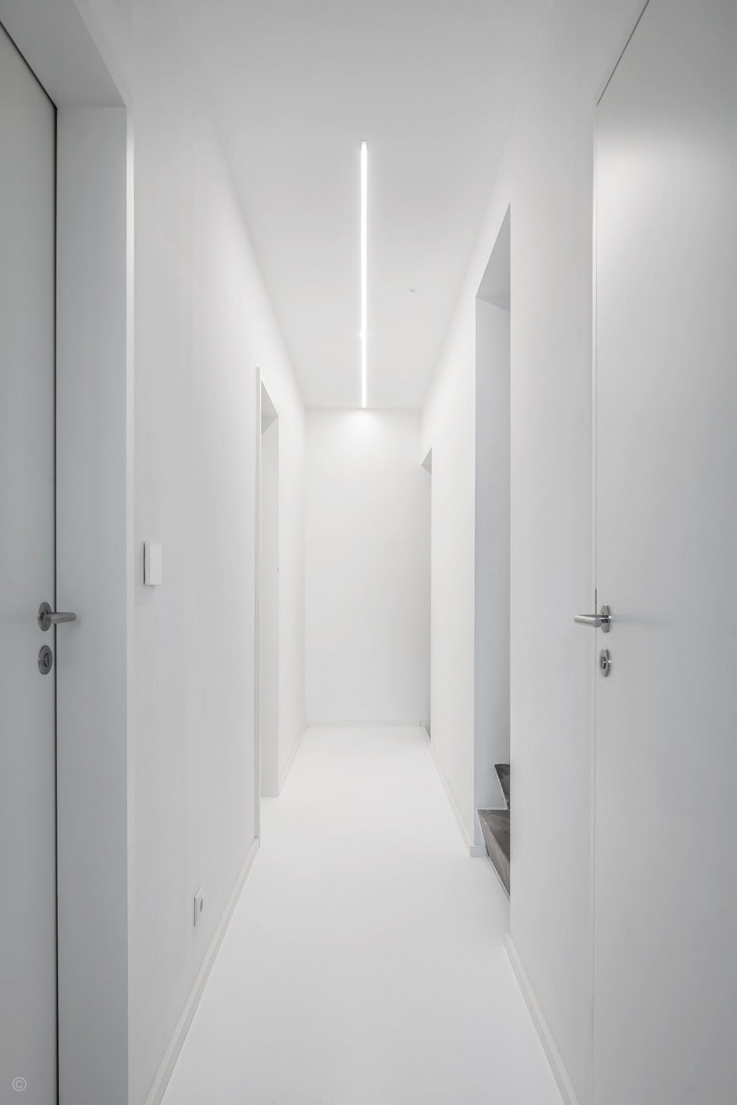 Hallway  Private House and Architecture Office