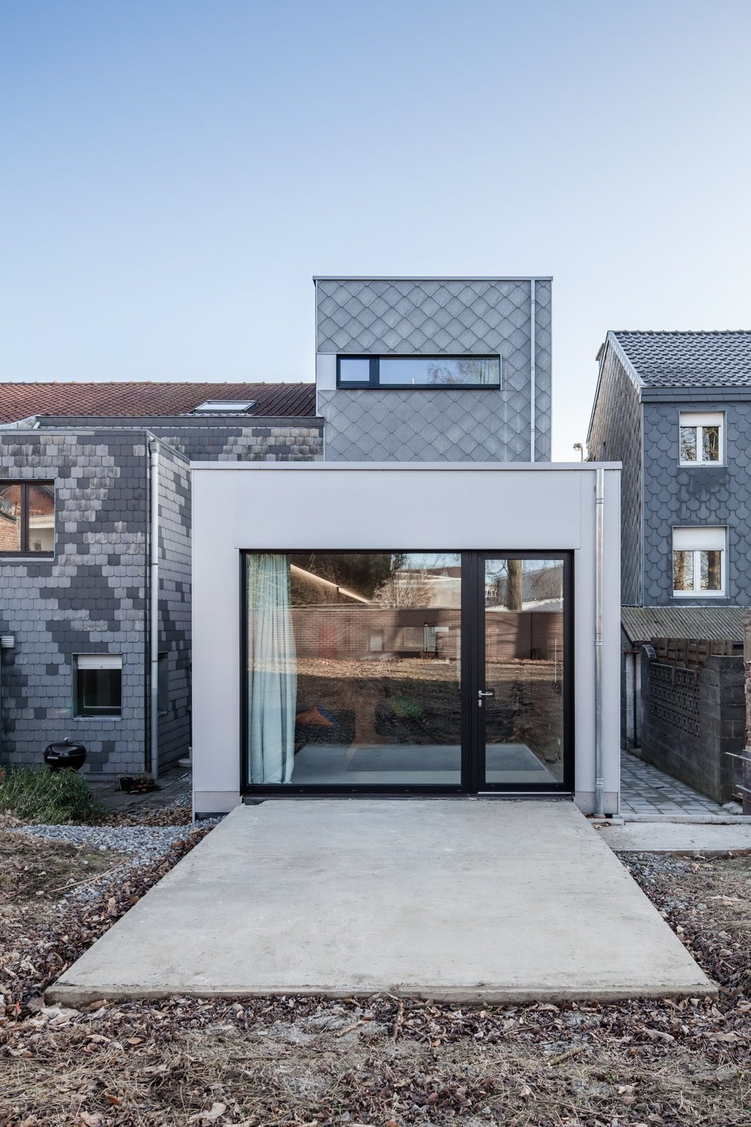 Outdoor and Back Yard  Private House and Architecture Office