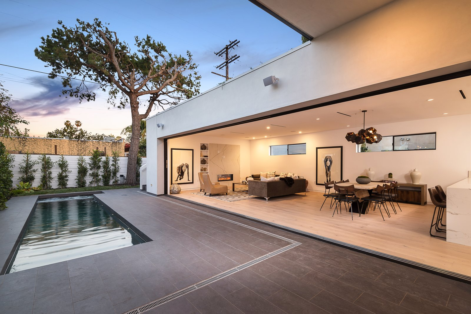 "Outdoor and Small Patio, Porch, Deck  Search ""small footprint in fayetteville"" from Roof Garden in West Hollywood"