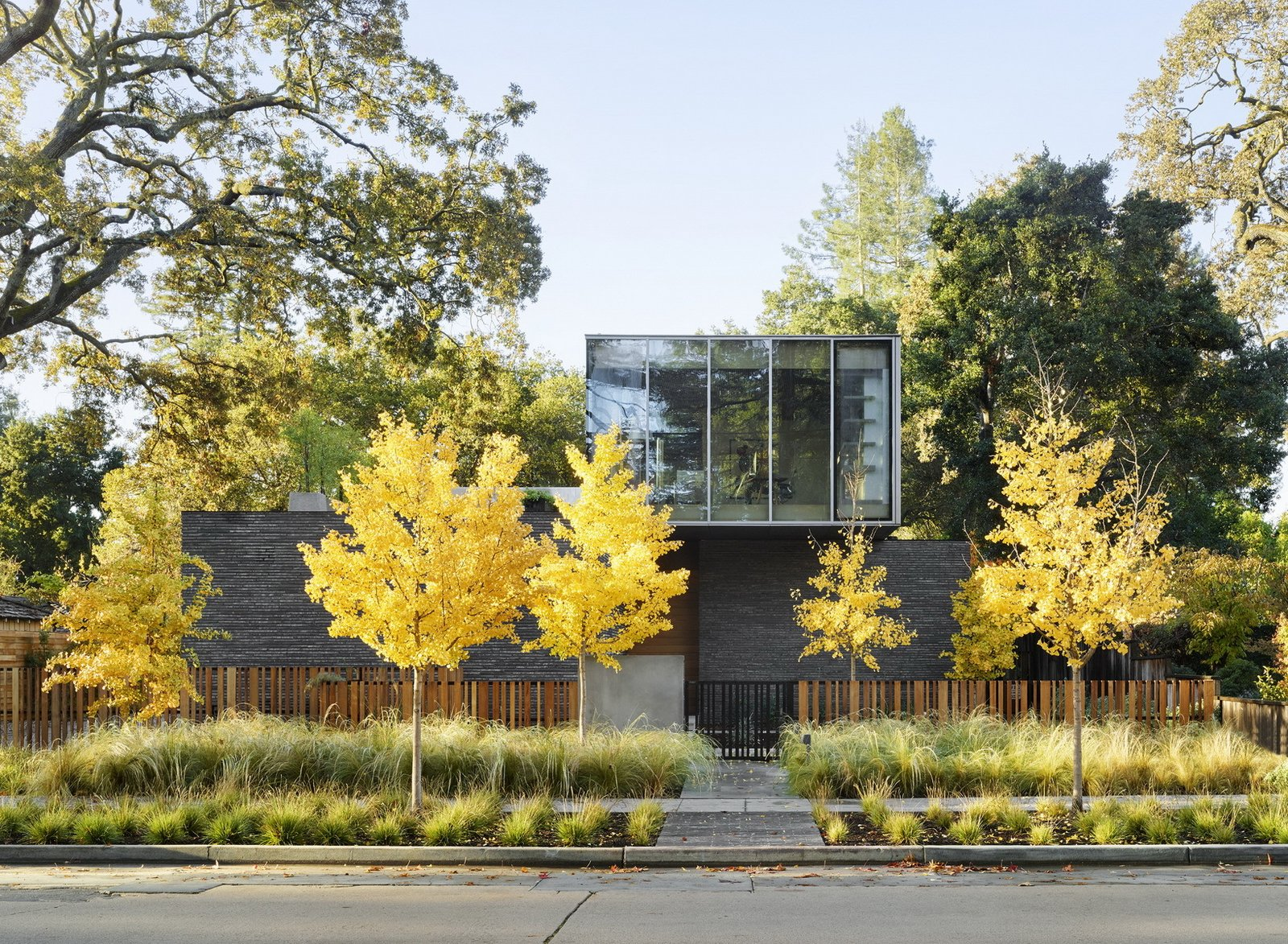 Exterior, Metal Siding Material, House Building Type, Flat RoofLine, and Brick Siding Material  Waverley Residence by Ehrlich Yanai Rhee Chaney Architects