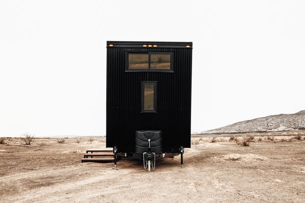 Aside from its stunning look, what makes the Drake unique is the thoughtful expertise that has gone into its design. Crafted by Land Ark RV's founders Brian and Joni Buzarde, who have been living the mobile tiny house lifestyle since 2011, this travel trailer has been years in the making.