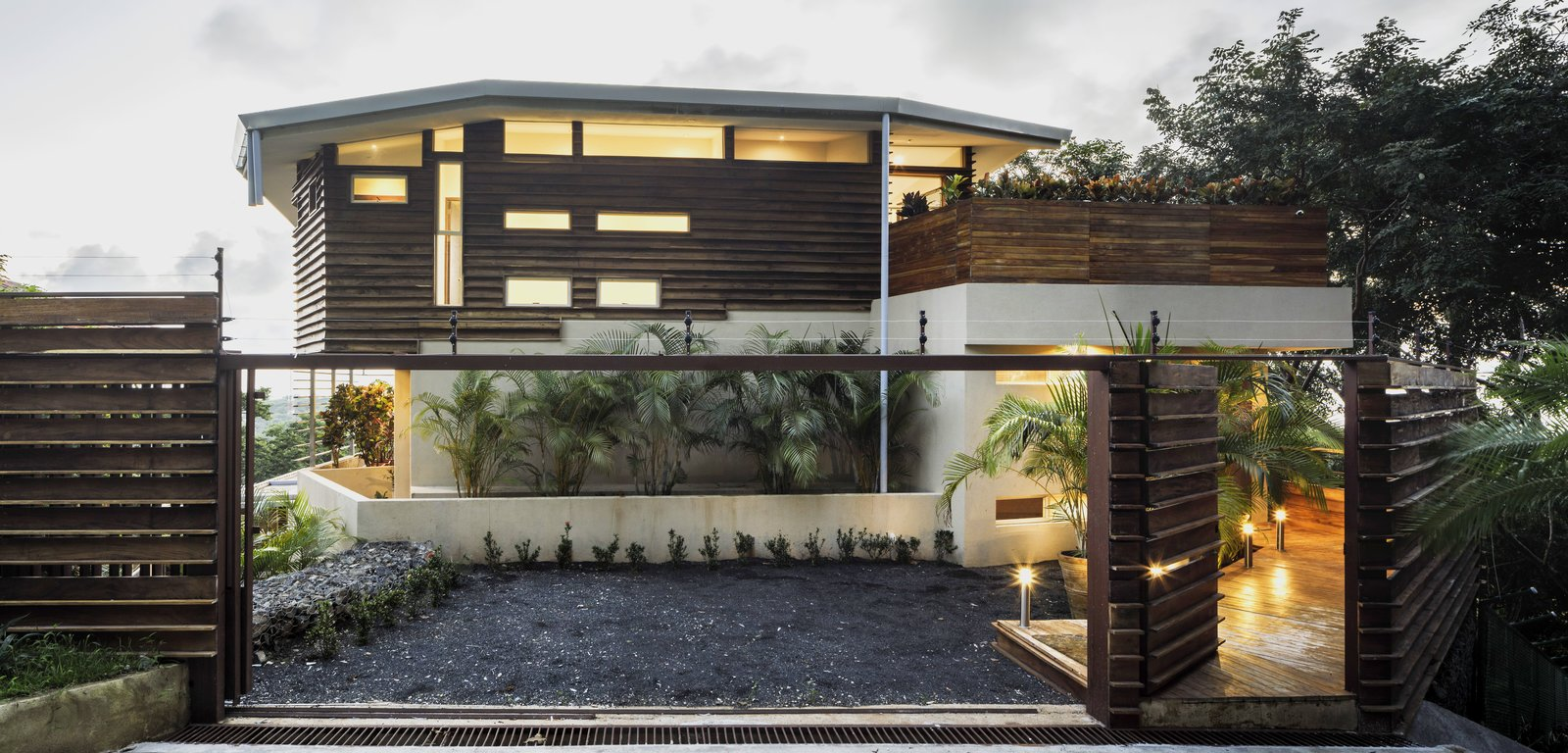 Waterfall House By Lsd Architects Modern Home In Tamarindo Costa