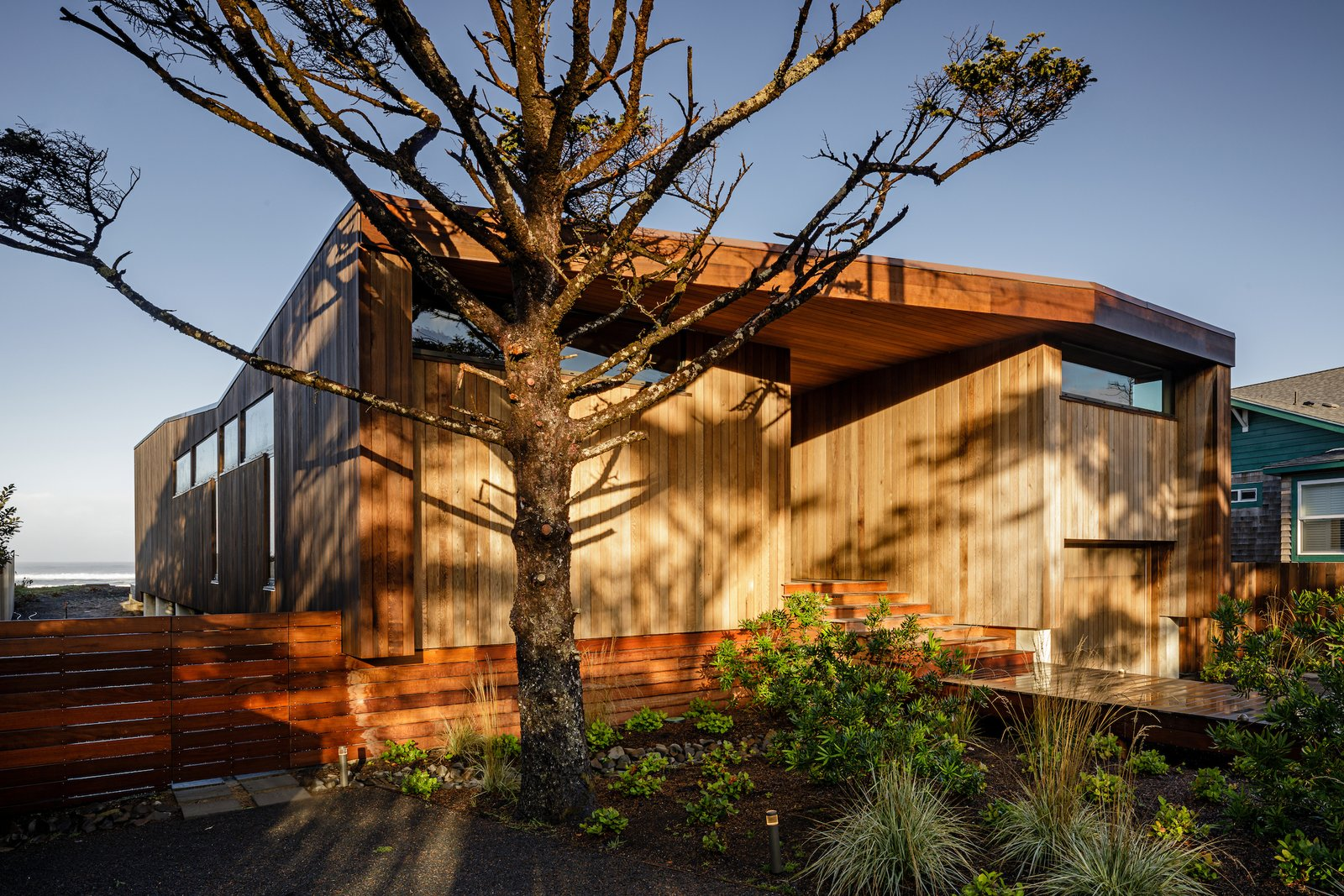 Exterior, Beach House Building Type, and Wood Siding Material  Arch Cape