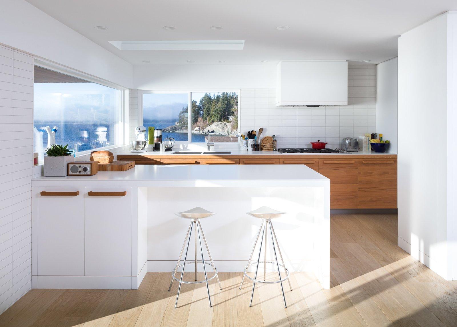 Kitchen  Halfmoon Bay House by Falken Reynolds Interiors