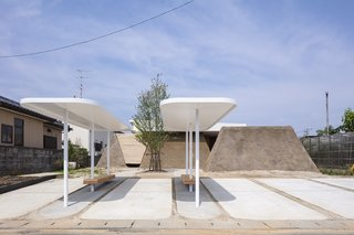 This Japanese Home With Earthen Walls Was Inspired by Sandcastles