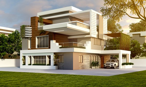 Photo 2 Of 2 In 3d Exterior House Design Dwell