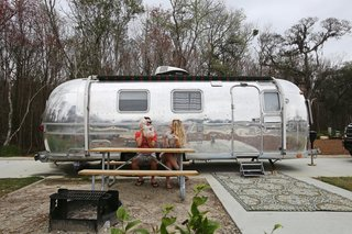 Dwell Before & After:  An Old Airstream Becomes a Charming Live/Work Space