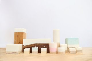Dwell Made Presents:  DIY Wood-Based Candles