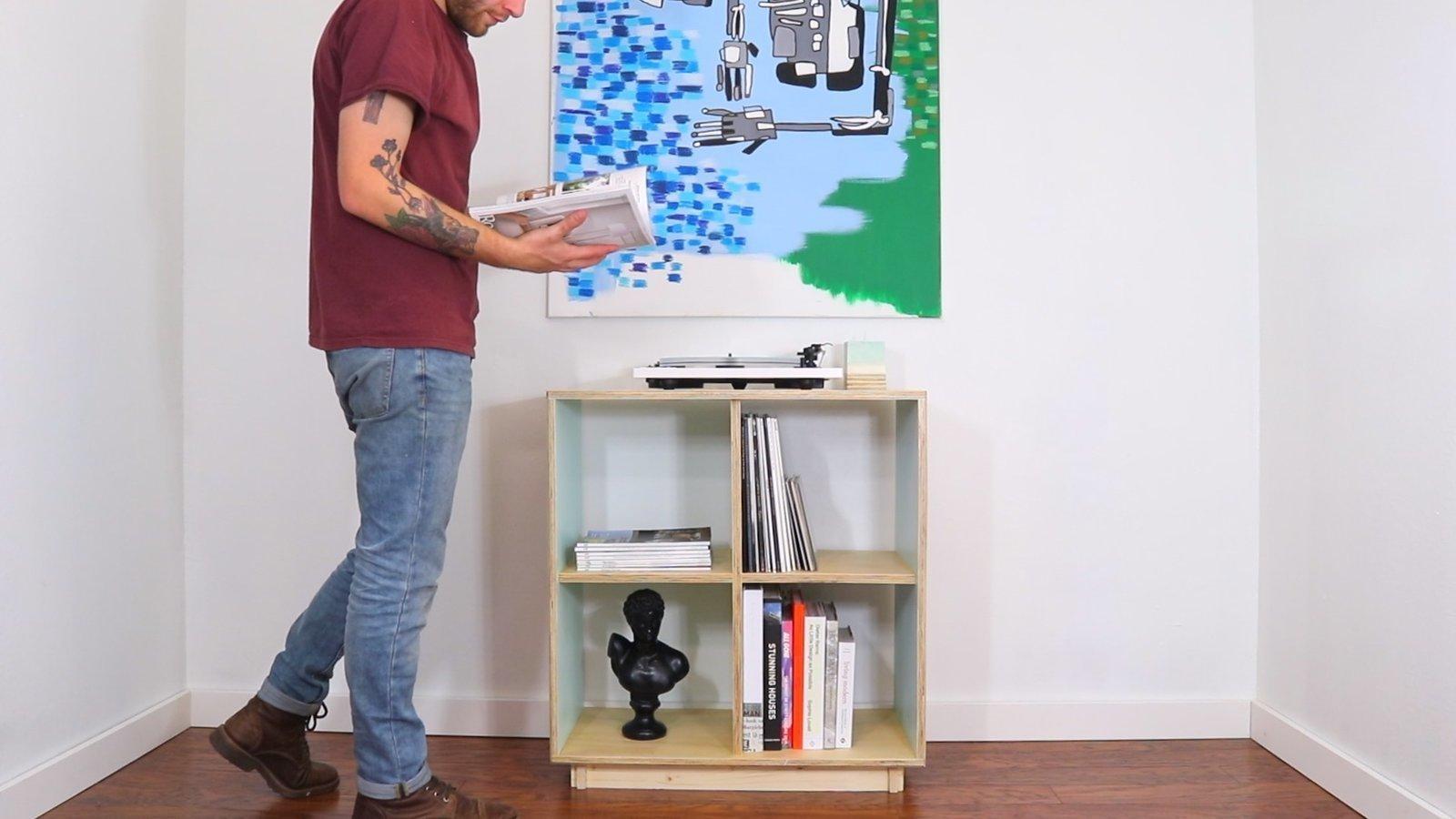 Modern Diy Bookcase A Dwell Made Project Dwell