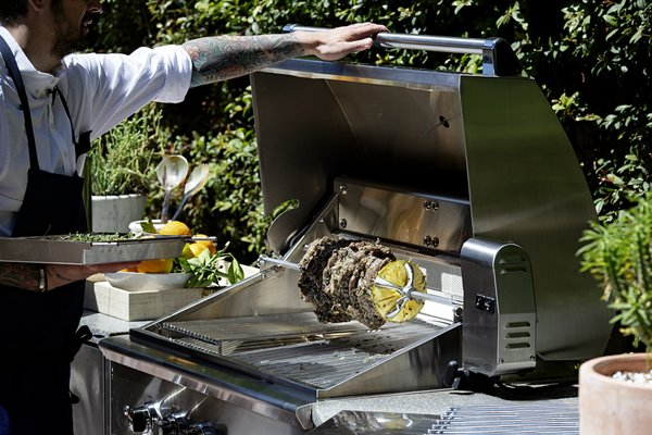 Chef Ludo Lefebvre Lights Up the Grill For the Perfect Summertime Spread