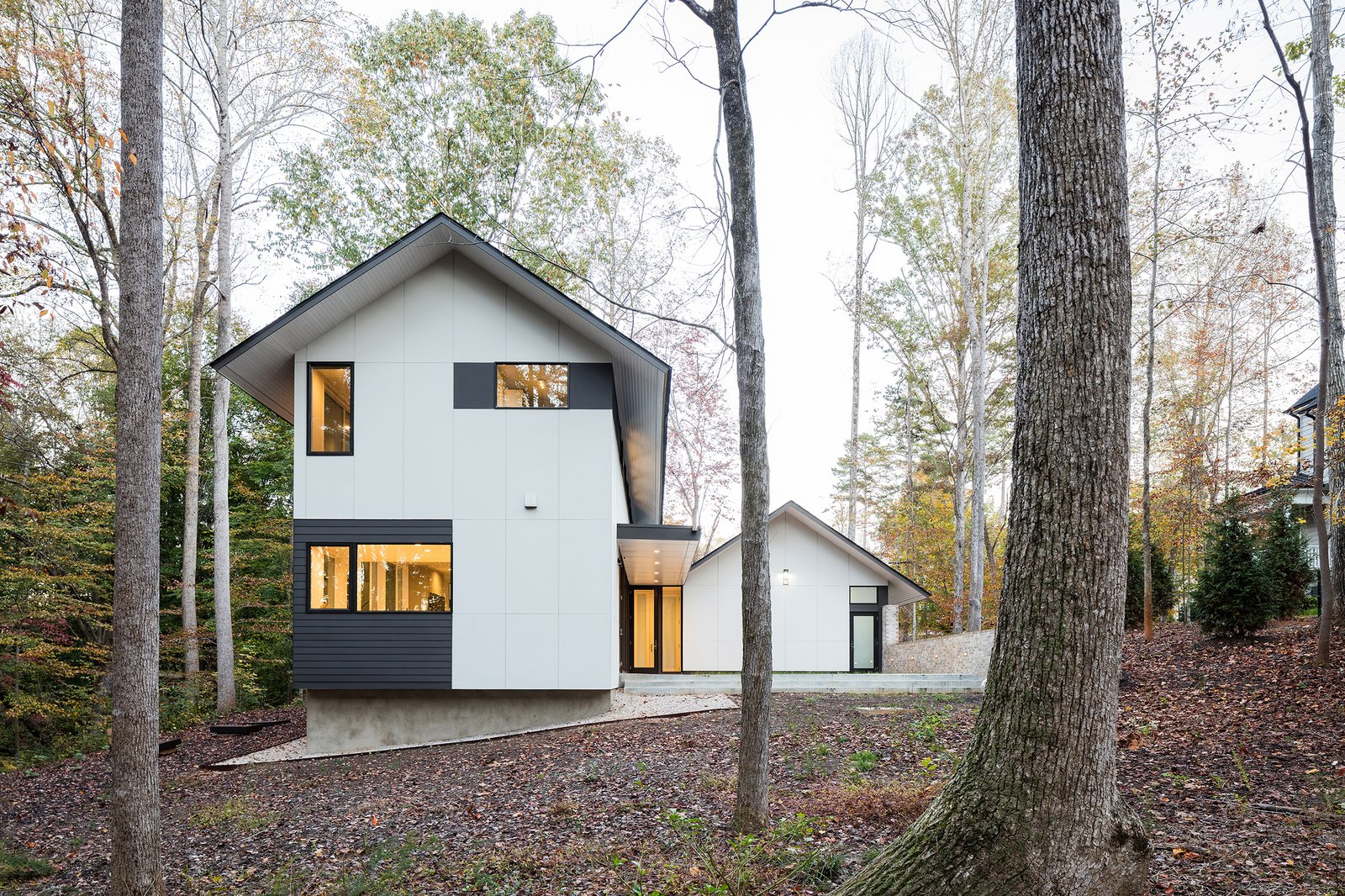 Exterior, House Building Type, and A-Frame RoofLine  Photos from The Moura Home