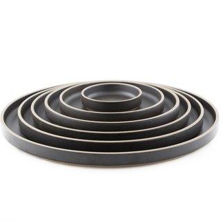 Hasami Porcelain - Plate, Black