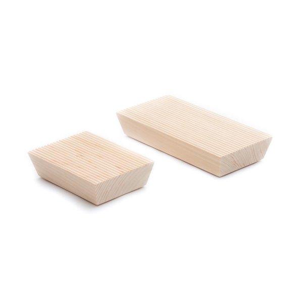 Hinoki Ridged Soap Dish