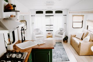 Embark on Your Next Road Trip in This Renovated Camper For $35K