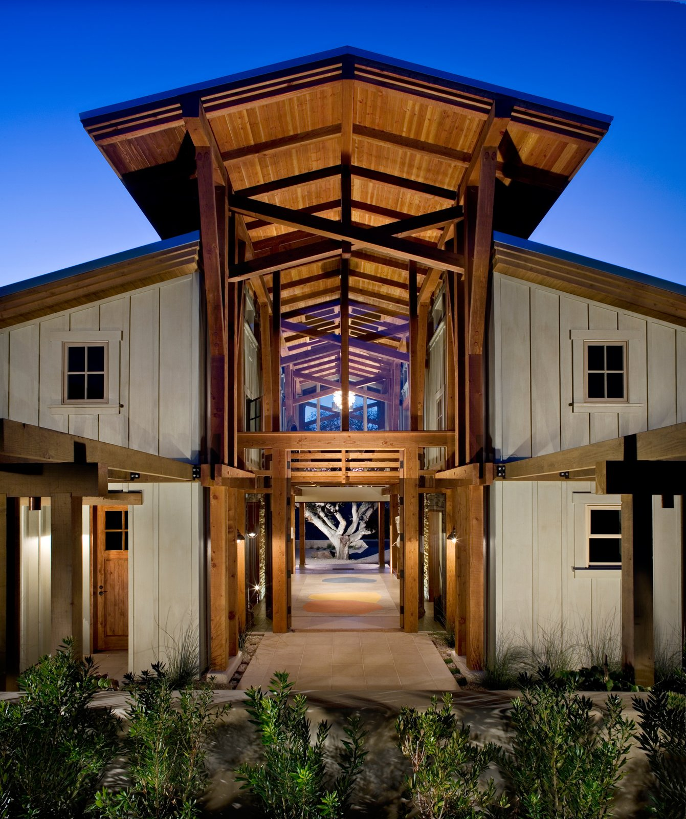 Barn House pound Modern Home in Monterey California by T