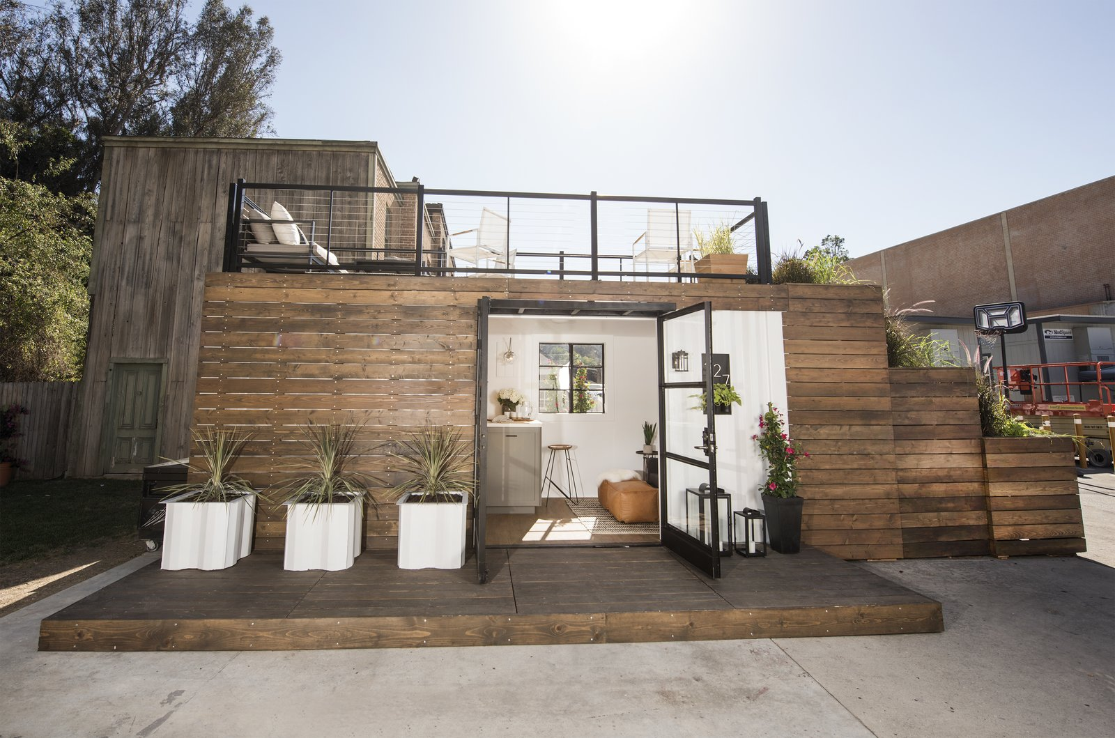 The Shipping Container Tiny House Modern Home In Long Beach On Dwell