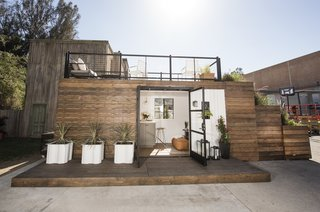 The Shipping Container Tiny House
