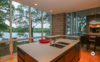 Modern home with Kitchen, Undermount Sink, and Light Hardwood Floor. Photo 6 of Modern & Minimalist on Lake Wisconsin