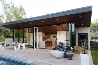This Can-Do Pool House Cleverly Goes From Private to Party Mode - Photo 2 of 15 -