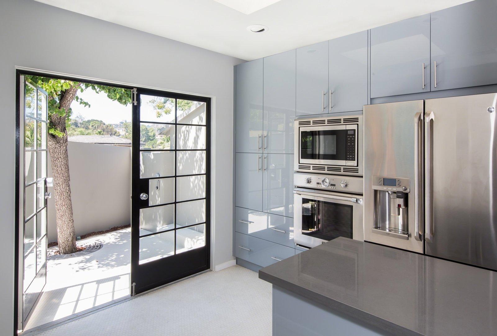 Kitchen, Refrigerator, Laminate, Wall Oven, and Laminate  Best Kitchen Laminate Laminate Photos from Lake Hollywood