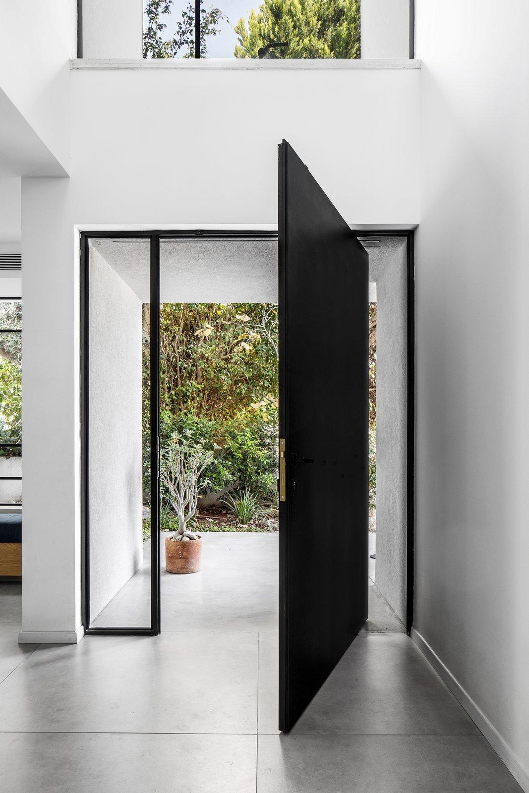MG House doorway