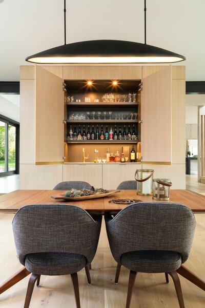 Modern Dining Room Bar Design Photos, Dining Room Bar