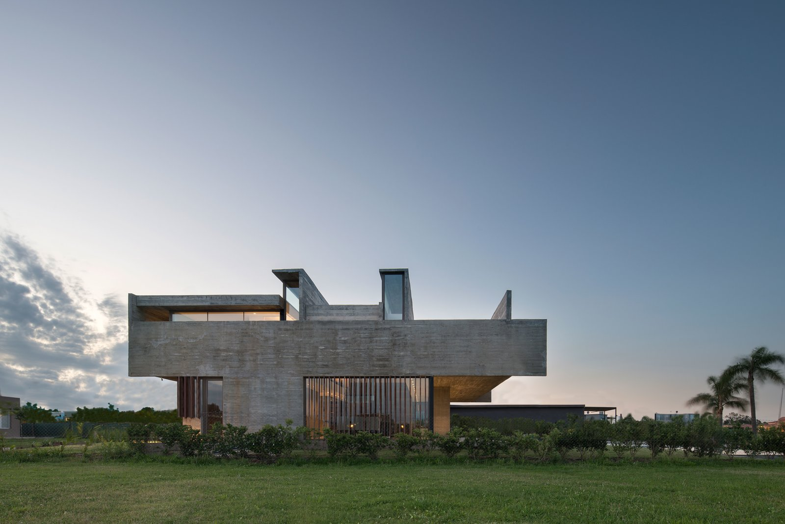 Exterior, House Building Type, and Concrete Siding Material  10 House by Luciano Kruk arquitectos
