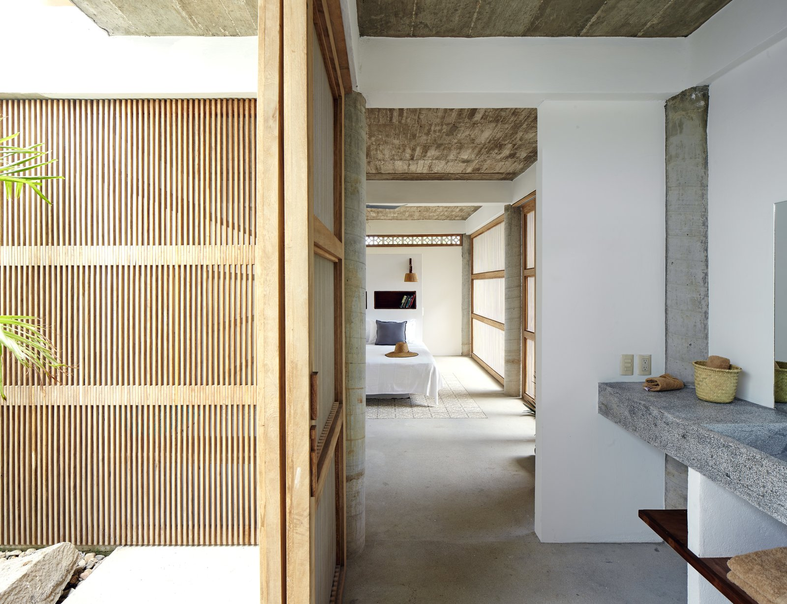 Bath, Concrete, Concrete, Drop In, and Concrete  Best Bath Drop In Concrete Concrete Photos from Casa Cal