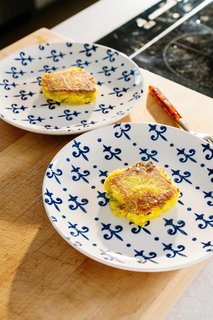 The first step to squash cakes? Pick squash that's fresh and ripe, says Lefebvre.