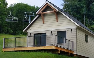 Unity Homes, a well-known modular home company in New England, now offers a small home at an affordable price. It's called the Nano, and at 477 square feet, it's available for just $50,000. That lands this adorable, energy-efficient cottage on the lower side of modular home prices in Massachusetts and other states surrounding its factory in New Hampshire, where prices are typically much higher.