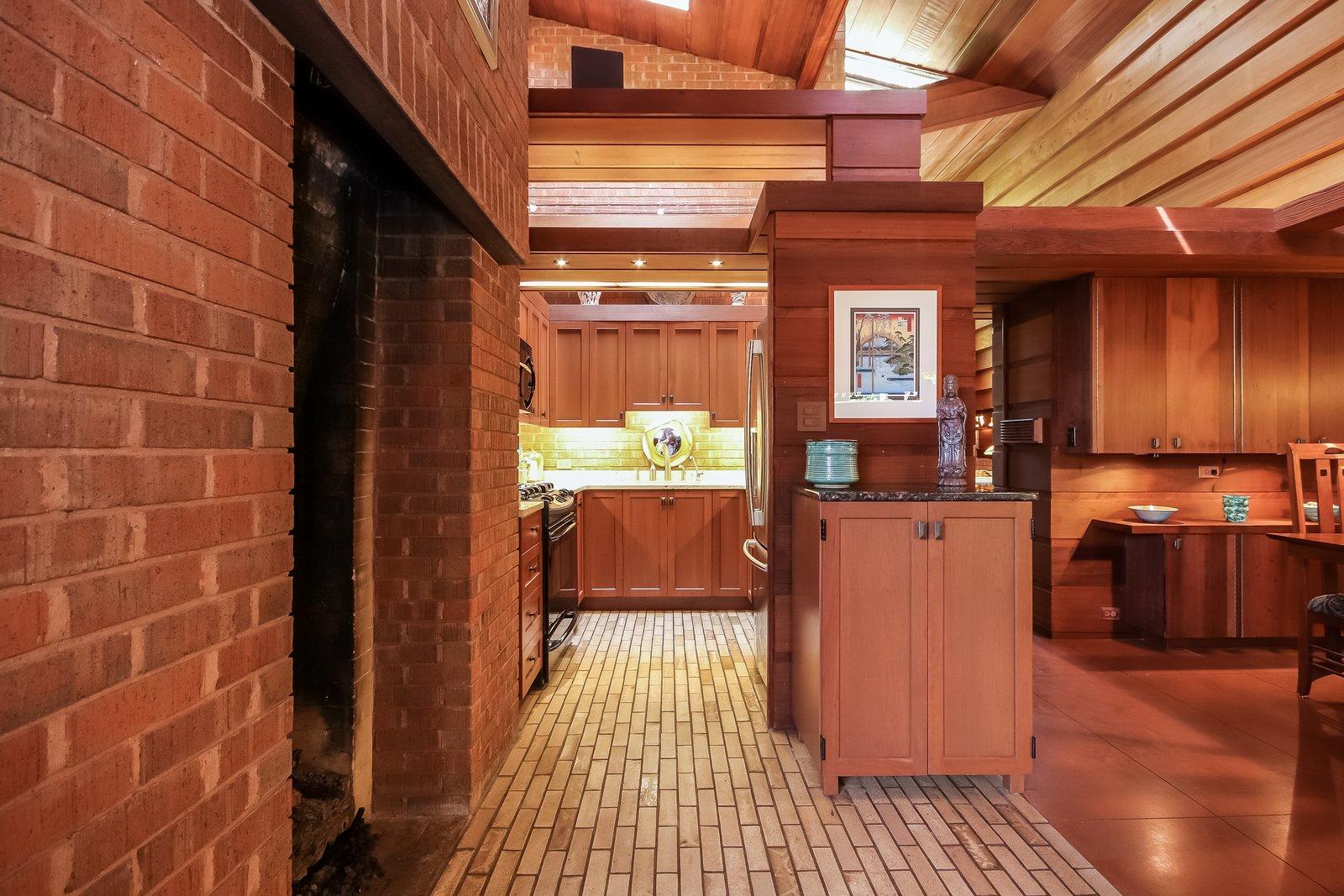 Kitchen  Frank Lloyd Wright's Small Masterpiece: The Haddock House