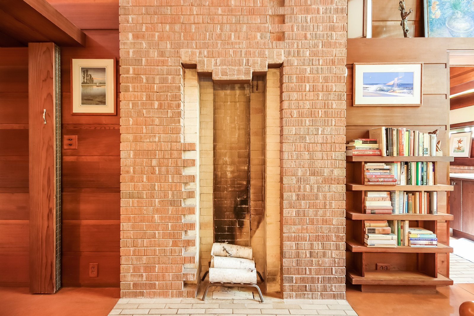 Bedroom  Frank Lloyd Wright's Small Masterpiece: The Haddock House