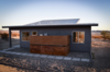 Modern home with Windows, Picture Window Type, Sliding Window Type, and Metal. Photo 8 of JT1 Cabin