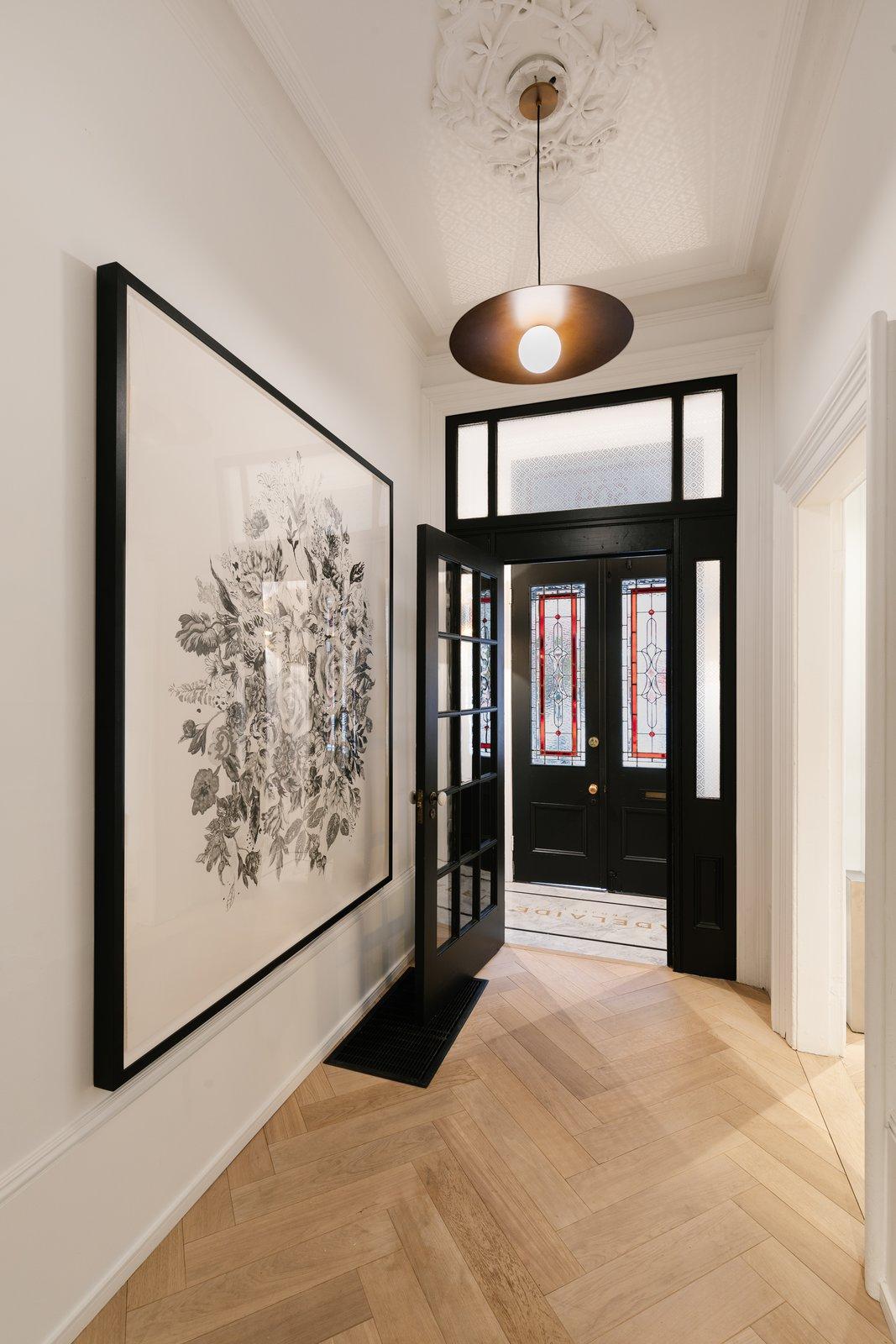 Hallway and Light Hardwood Floor  The Adelaide Project
