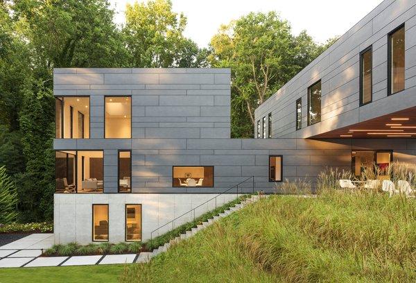 Split Box House Modern Home In Atlanta Georgia By Dig