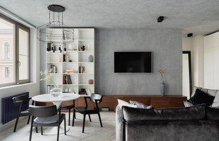 Brutal and minimalistic apartment