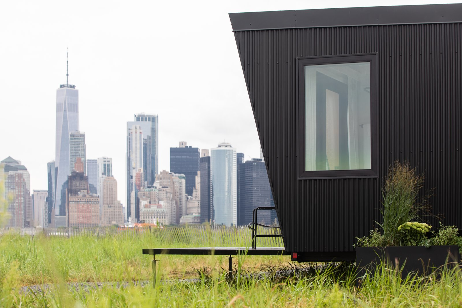 Outlook Shelter from Spend the Night in a Swank, Modular Hotel Room on Governors Island