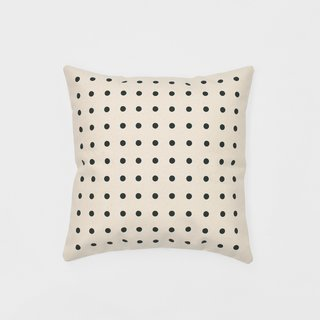 California Cotton Big Dots  Pop Pillow