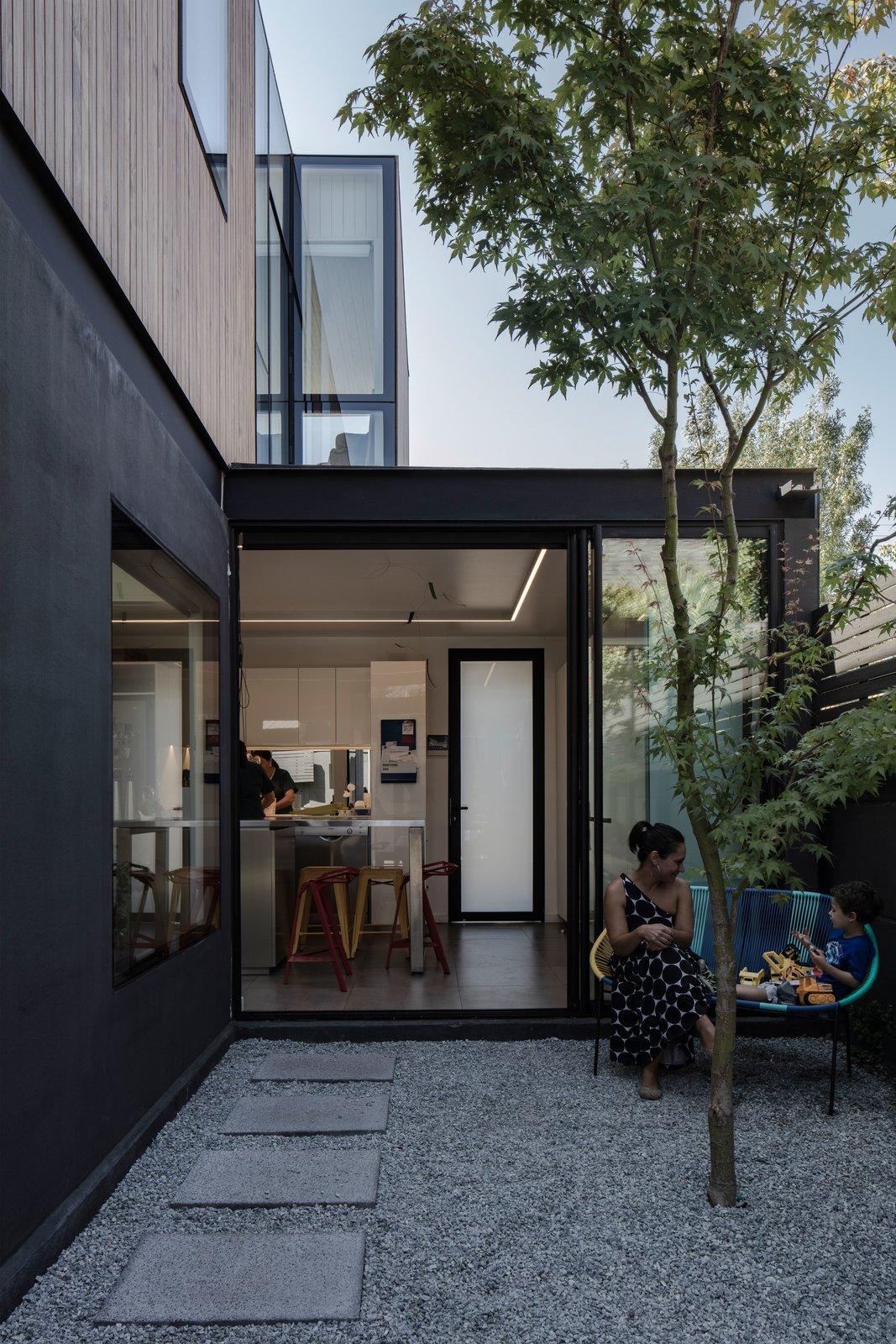Outdoor, Walkways, and Side Yard  Virginia House