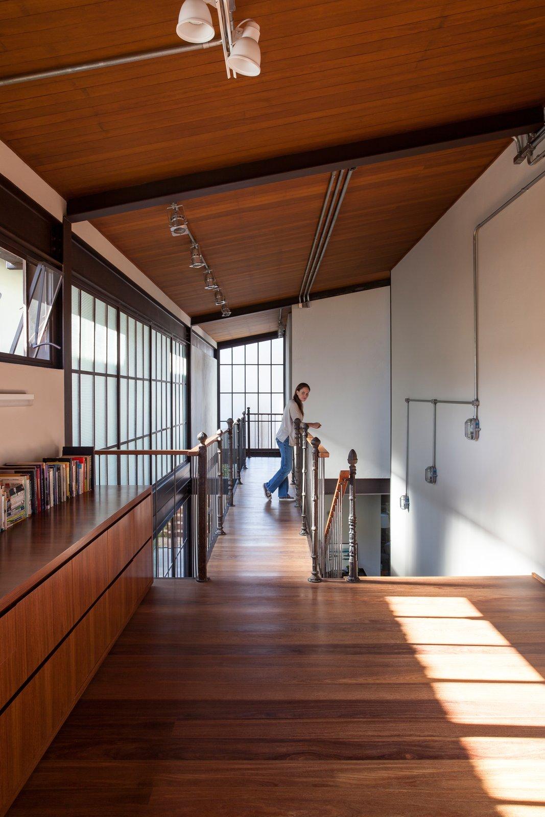 Hallway and Medium Hardwood Floor  Conde D'eu House