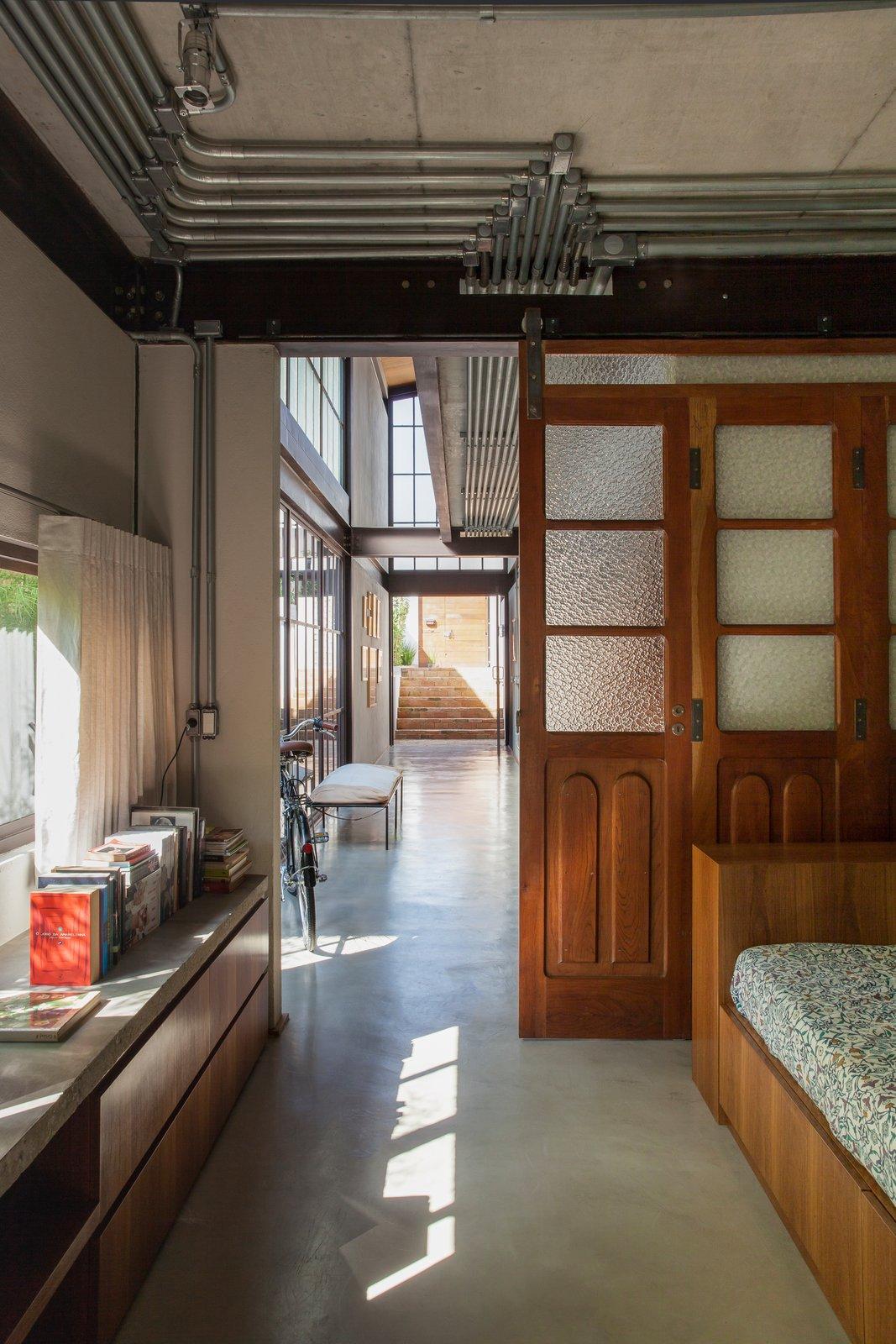 Hallway and Concrete Floor  Conde D'eu House
