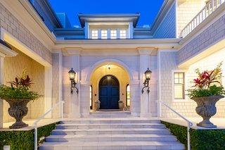 Coastal Comfort and New England Elegance Siesta Key Bayfront Mansion