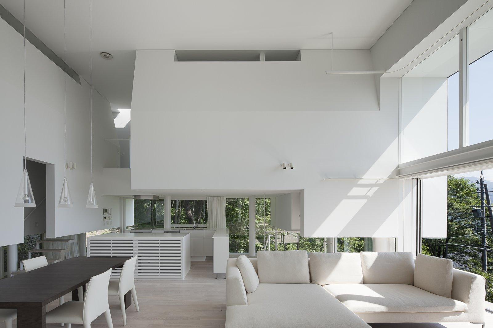 Villa in Miyama living room