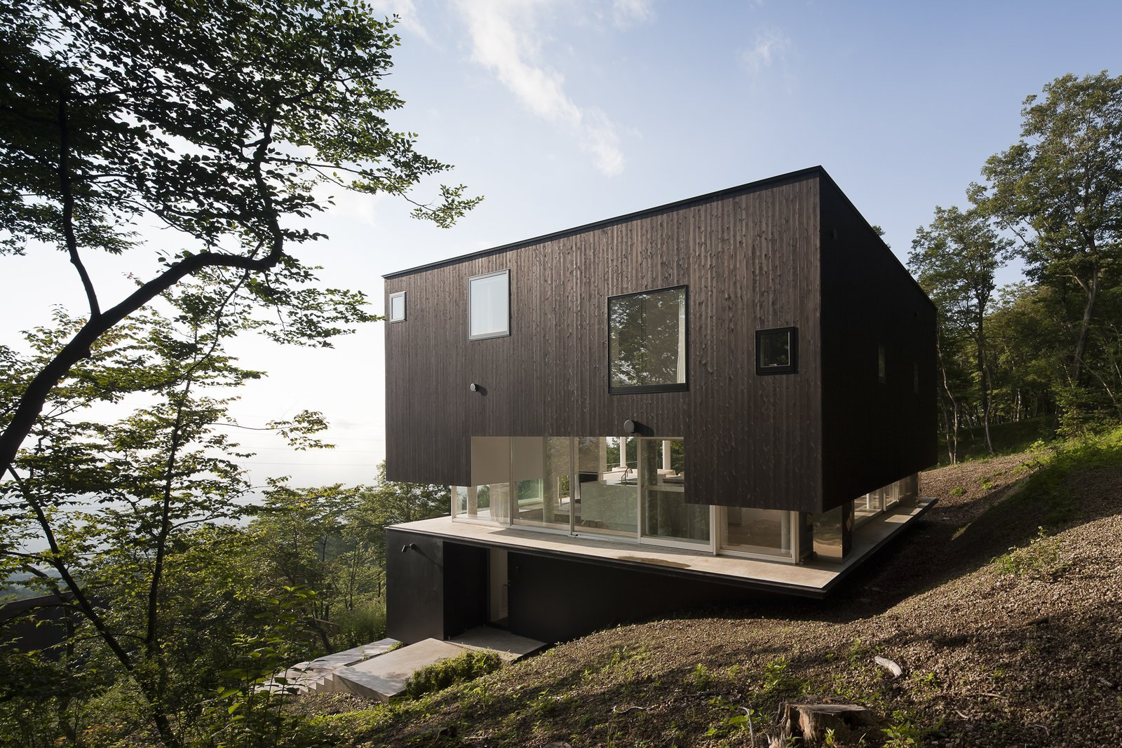 Villa in Miyama exterior