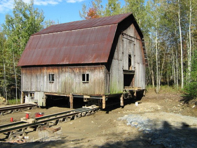 Exterior, Metal Roof Material, Farmhouse Building Type, Wood Siding Material, and Gambrel RoofLine  The Barn